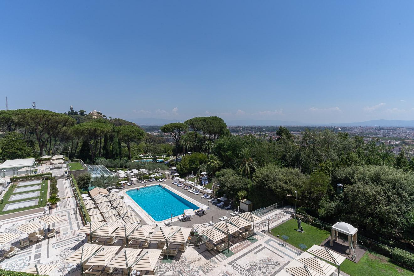 waldorf cavalieri 43 - REVIEW - Rome Cavalieri a Waldorf Astoria Hotel : Premium Rome View Room [COVID-era]