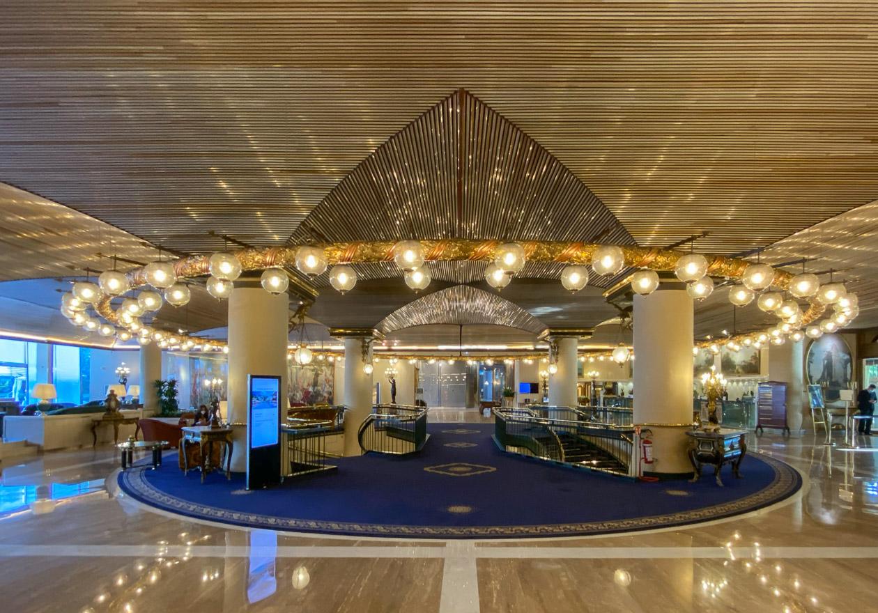 waldorf cavalieri 5 - REVIEW - Rome Cavalieri a Waldorf Astoria Hotel : Premium Rome View Room [COVID-era]