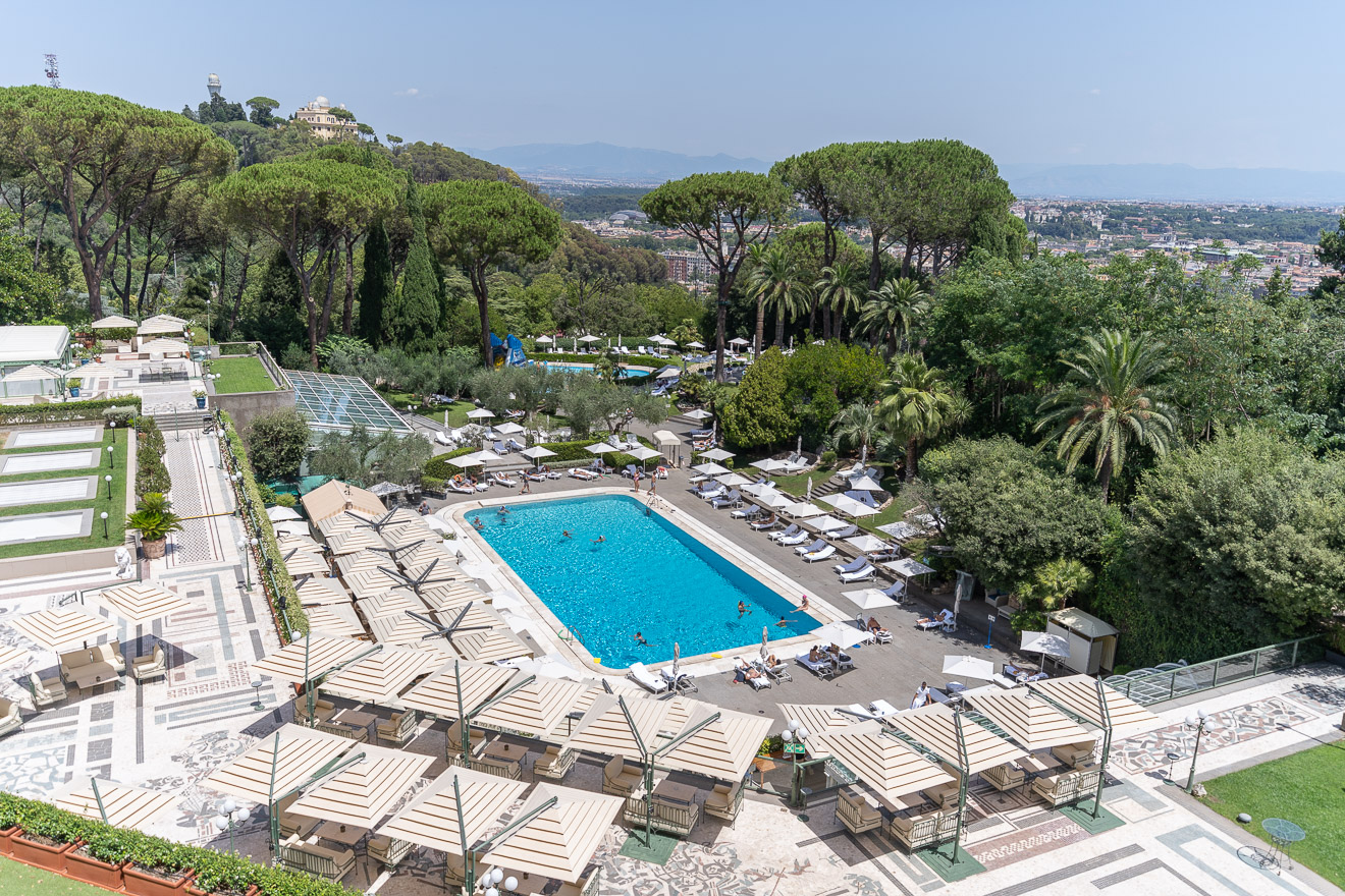 waldorf cavalieri 86 - REVIEW - Rome Cavalieri a Waldorf Astoria Hotel : Premium Rome View Room [COVID-era]