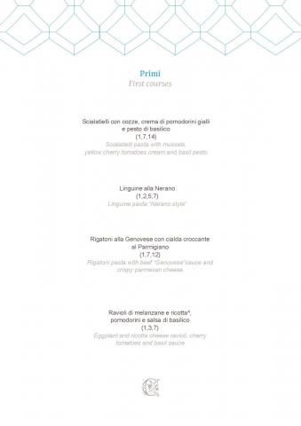Dei Cappuccini MENU luglio 2020 half board page 002 1086x1536 640x480 - REVIEW - NH Collection Grand Hotel Convento di Amalfi : Junior Suite with Tatami bed [COVID-era]