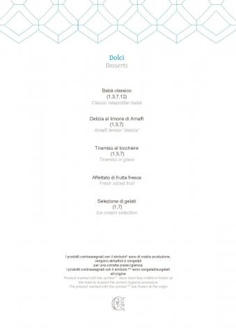 Dei Cappuccini MENU luglio 2020 half board page 004 1086x1536 640x480 - REVIEW - NH Collection Grand Hotel Convento di Amalfi : Junior Suite with Tatami bed [COVID-era]