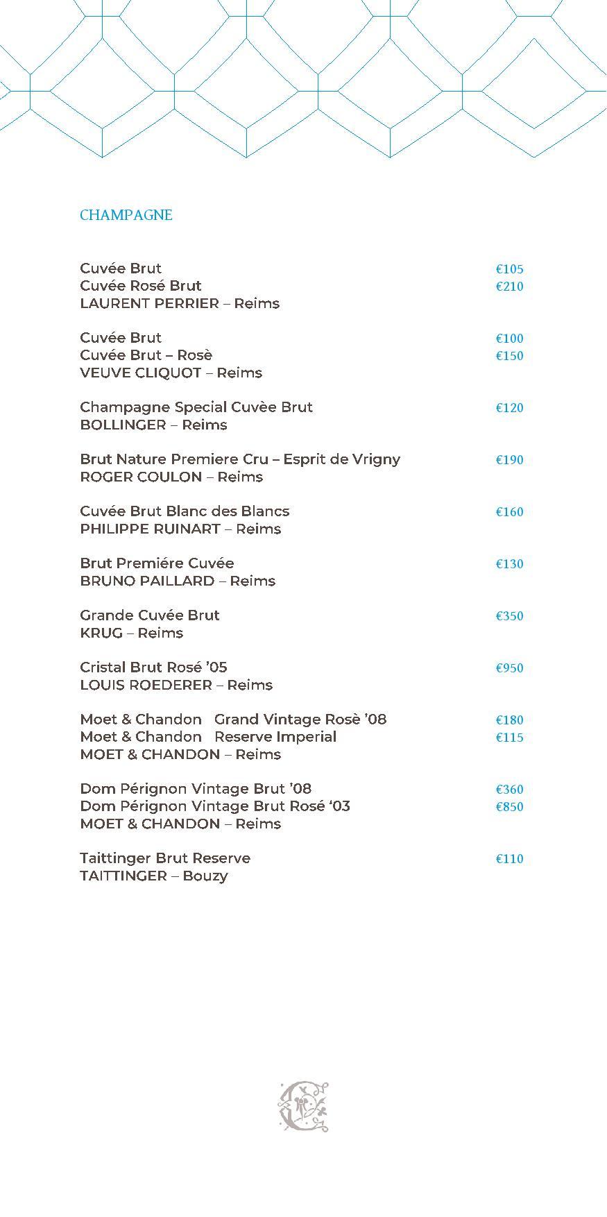 Dei Cappuccini wines menu luglio 2020 1 page 003 - REVIEW - NH Collection Grand Hotel Convento di Amalfi : Junior Suite with Tatami bed [COVID-era]