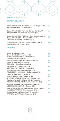 Dei Cappuccini wines menu luglio 2020 1 page 004 766x1536 640x480 - REVIEW - NH Collection Grand Hotel Convento di Amalfi : Junior Suite with Tatami bed [COVID-era]