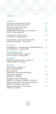 Dei Cappuccini wines menu luglio 2020 1 page 007 766x1536 640x480 - REVIEW - NH Collection Grand Hotel Convento di Amalfi : Junior Suite with Tatami bed [COVID-era]