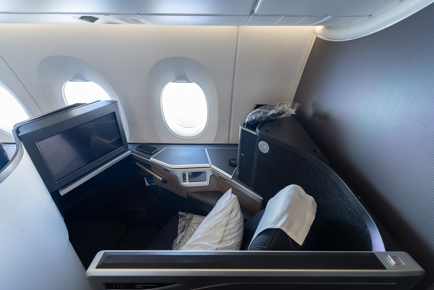 Club suites 36 - REVIEW - British Airways : Club Suites Business Class - A350 - London (LHR) to Dubai (DXB) and back - [COVID-era]