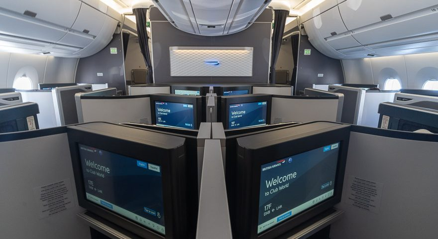 A350 club suites mini cabin