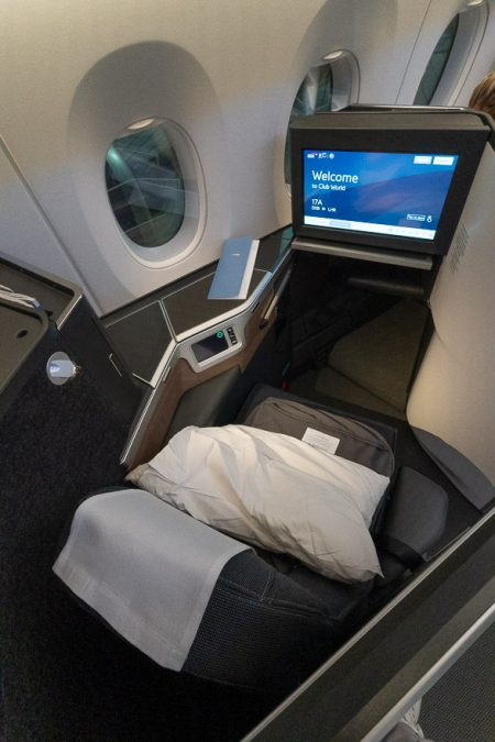 Club suites 4 450x675 - REVIEW - British Airways : Club Suites Business Class - A350 - London (LHR) to Dubai (DXB) and back - [COVID-era]
