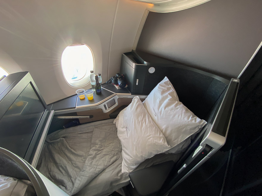 Club suites 44 - REVIEW - British Airways : Club Suites Business Class - A350 - London (LHR) to Dubai (DXB) and back - [COVID-era]