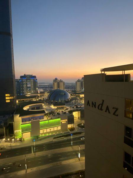andaz palm 1 450x600 - REVIEW - Andaz Dubai The Palm : Terrace Suite [COVID-era]