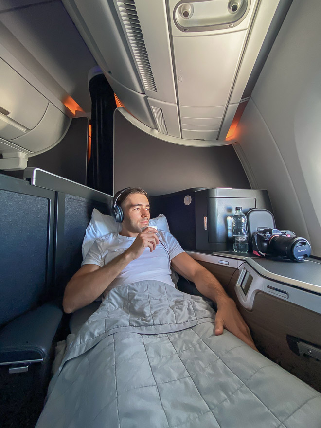 club suites tea 8 - REVIEW - British Airways : Club Suites Business Class - A350 - London (LHR) to Dubai (DXB) and back - [COVID-era]