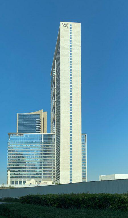 waldorf DIFC 1 450x766 - REVIEW - Waldorf Astoria Dubai DIFC : King Corner Suite [COVID-era]