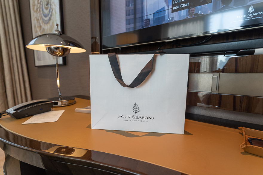 FS DIFC 100 - REVIEW - Four Seasons Dubai at Jumeirah Beach : Deluxe City-View Room [COVID-era]