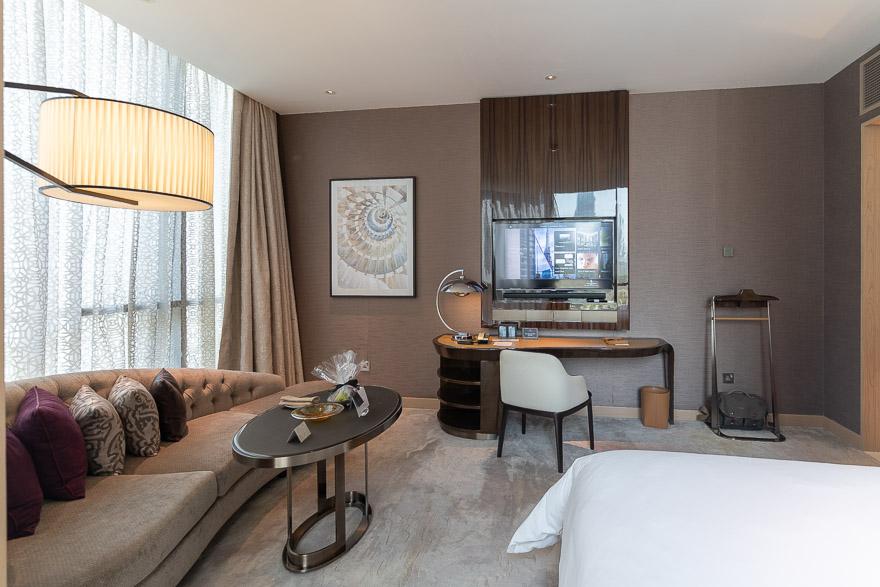 FS DIFC 18 - REVIEW - Four Seasons Dubai DIFC : Four Seasons Room & Studio Suite [COVID-era]