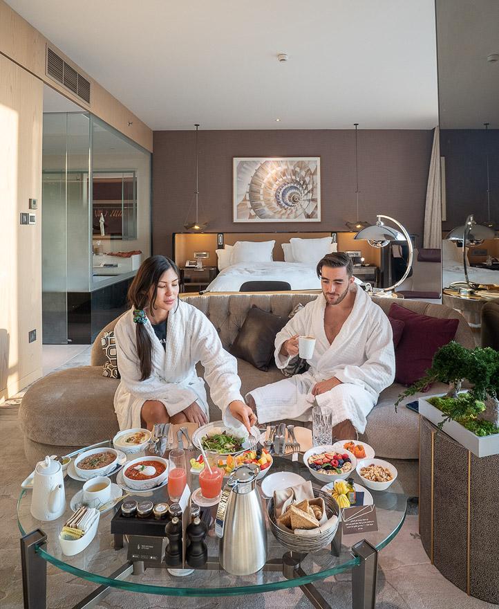FS DIFC 65 - REVIEW - Four Seasons Dubai DIFC : Four Seasons Room & Studio Suite [COVID-era]