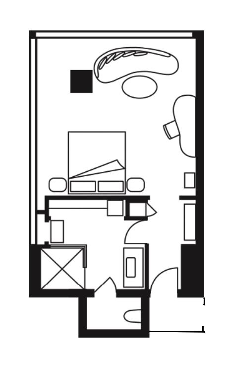 FS DIFC - REVIEW - Four Seasons Dubai DIFC : Four Seasons Room & Studio Suite [COVID-era]