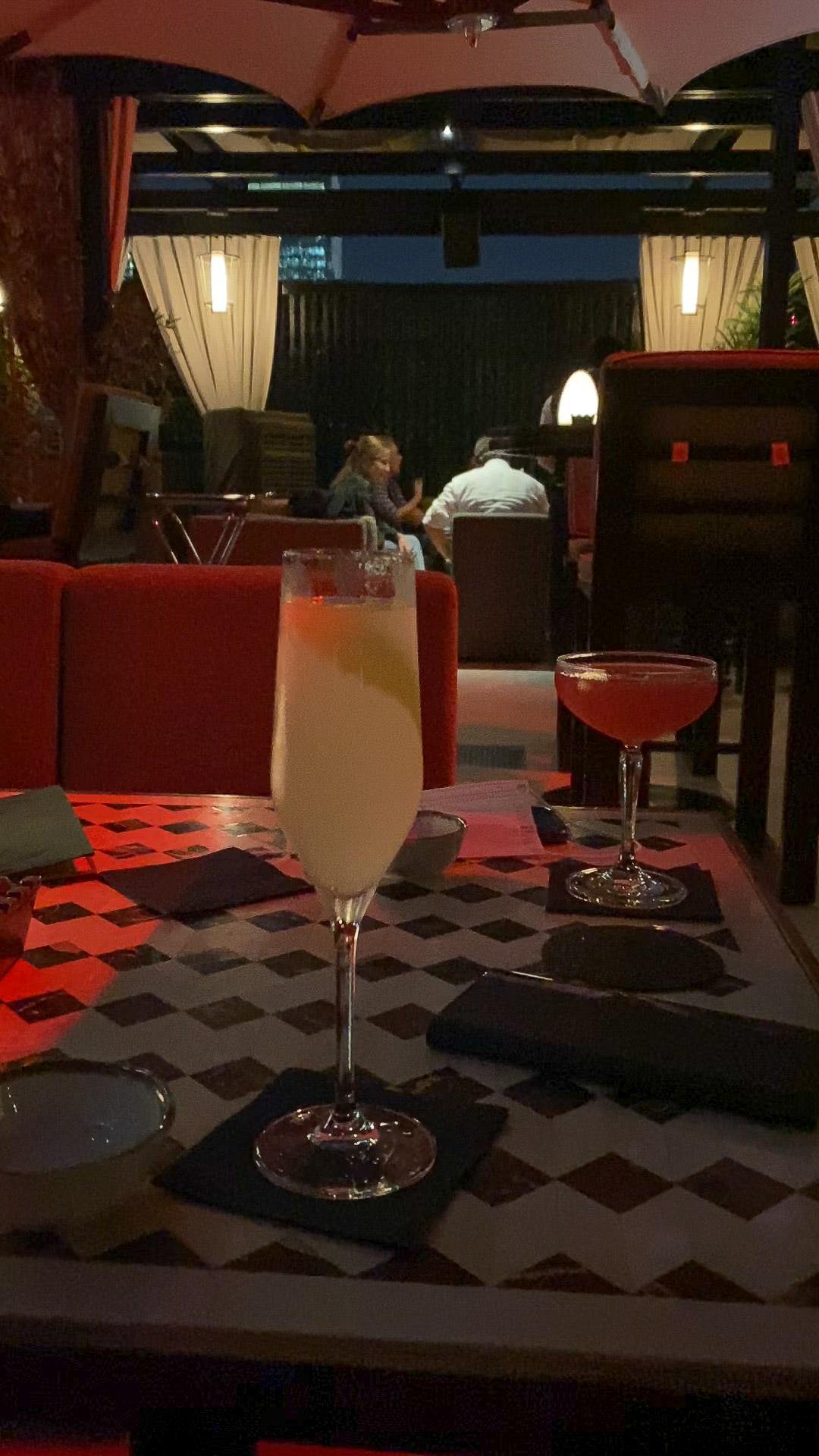 luna bar drinks 1 - REVIEW - Four Seasons Dubai DIFC : Four Seasons Room & Studio Suite [COVID-era]