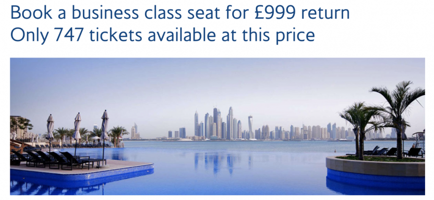 747 sale 880x407 - REVIEW - British Airways : First Class Suites - B777 - London (LHR) to Malé (MLE) - [COVID-era]