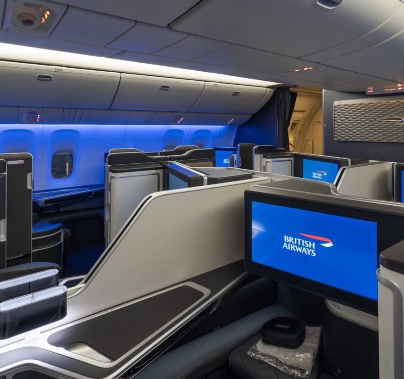 new BA 777 suites cabin