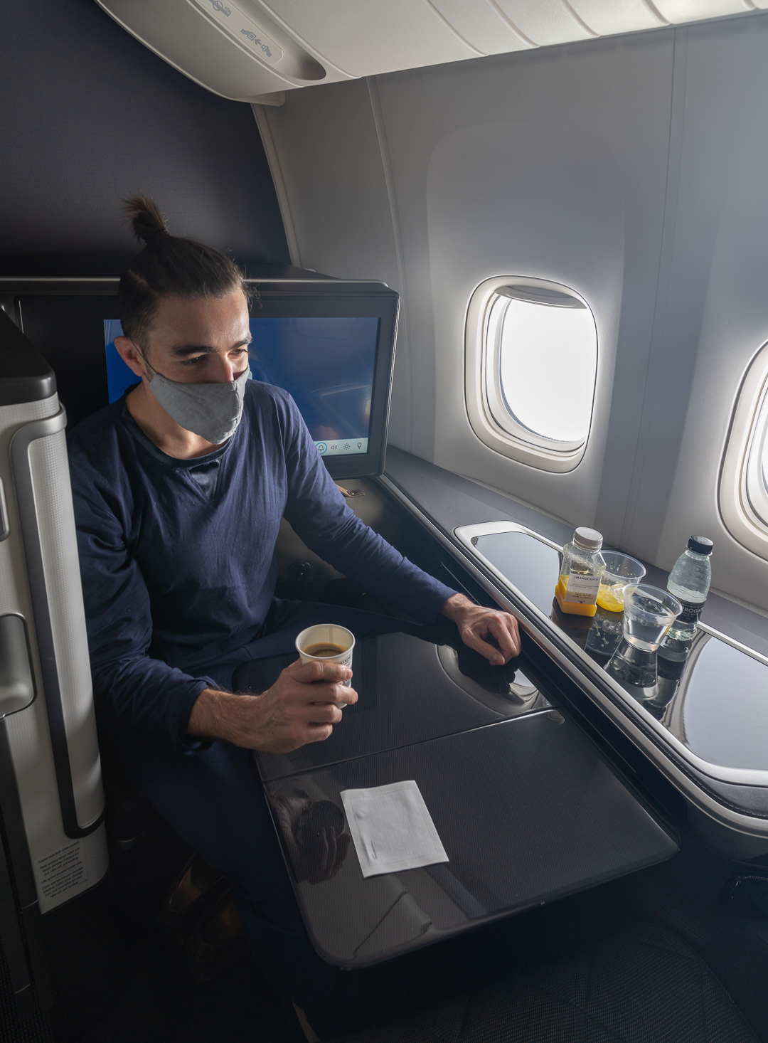BA 77WN F 51 - REVIEW - British Airways : First Class Suites - B777 - London (LHR) to Malé (MLE) - [COVID-era]