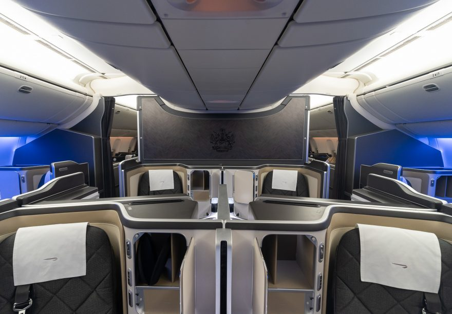 BA 77WN F 6 880x612 - REVIEW - British Airways : First Class Suites - B777 - London (LHR) to Malé (MLE) - [COVID-era]