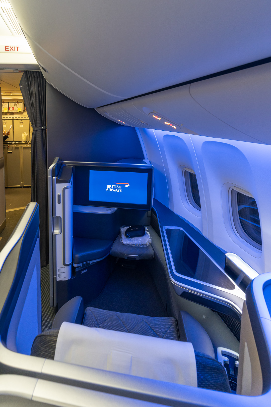 BA 77WN F 8 - REVIEW - British Airways : First Class Suites - B777 - London (LHR) to Malé (MLE) - [COVID-era]