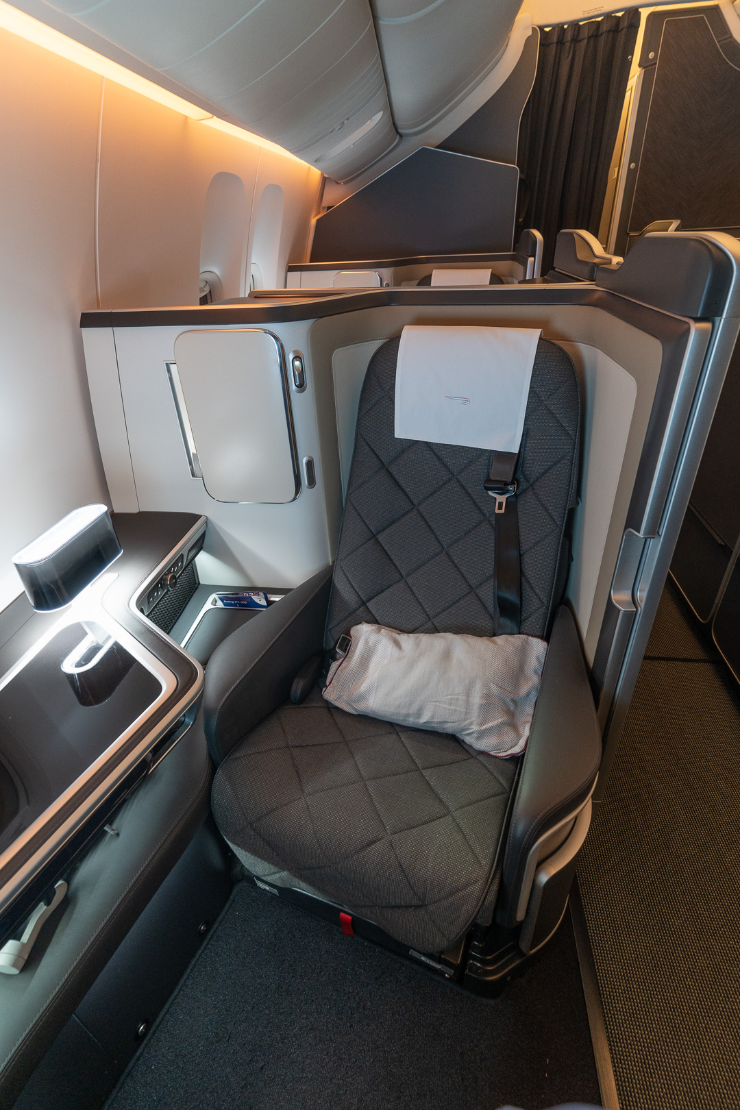BA 77WN F 9 - REVIEW - British Airways : First Class Suites - B777 - London (LHR) to Malé (MLE) - [COVID-era]