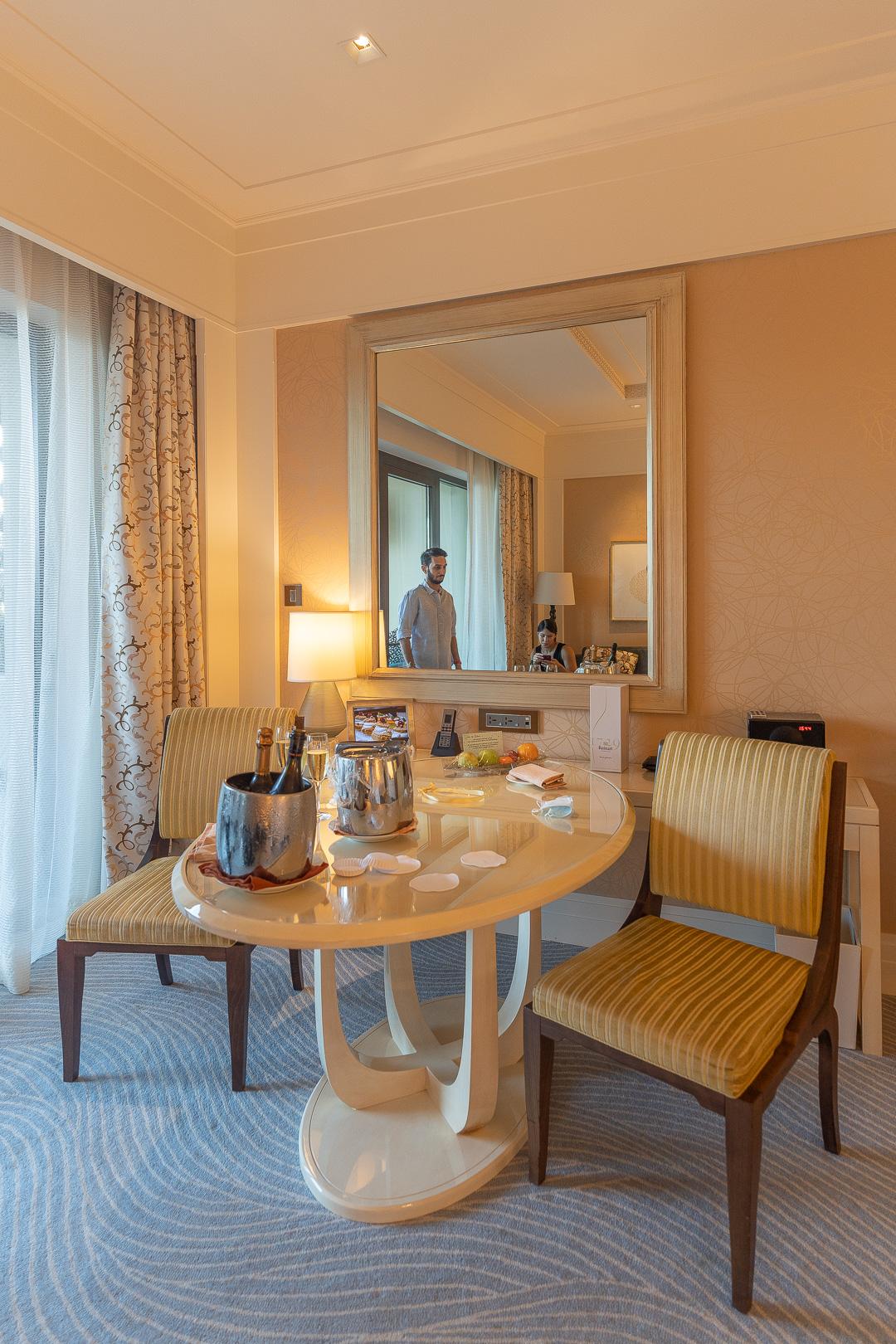 FS Jumeirah 11 - REVIEW - Four Seasons Dubai at Jumeirah Beach : Deluxe City-View Room [COVID-era]
