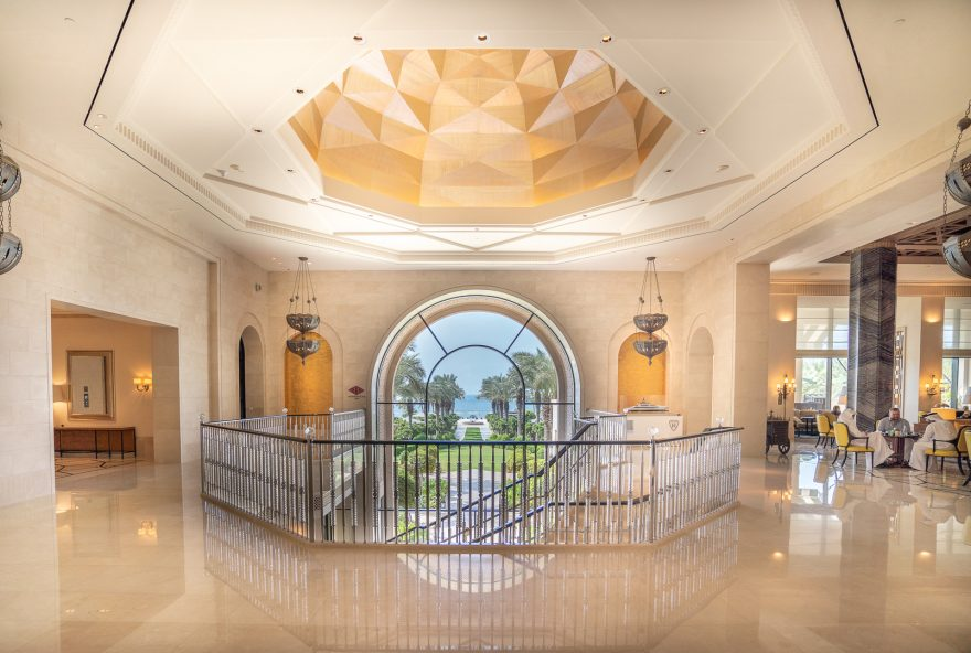 FS Jumeirah 4 880x592 - REVIEW - Four Seasons Dubai at Jumeirah Beach : Deluxe City-View Room [COVID-era]