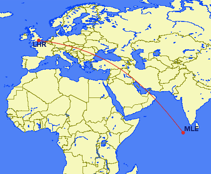 lhr mle - REVIEW - British Airways : First Class Suites - B777 - London (LHR) to Malé (MLE) - [COVID-era]