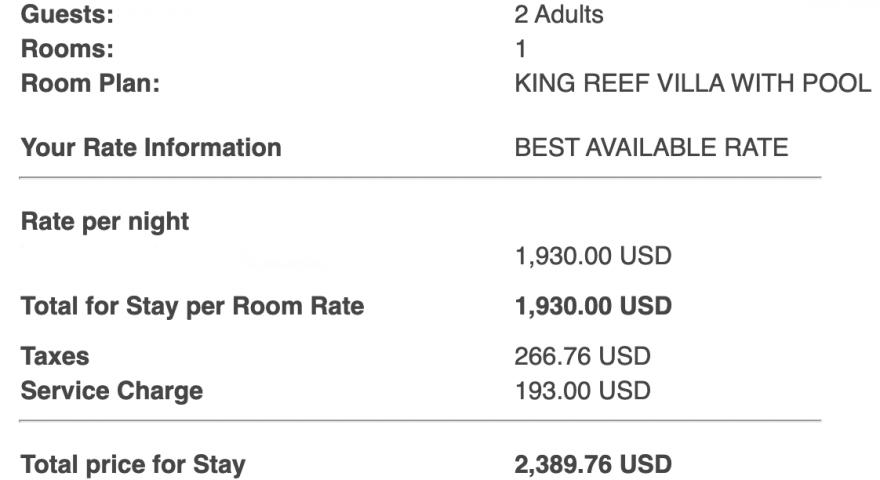 Screenshot at Jan 26 11 09 54 880x480 - REVIEW - Waldorf Astoria Maldives Ithaafushi : King Reef Villa & King Ocean Villa