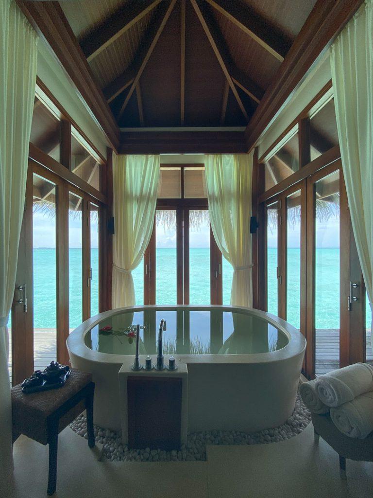 anantara veli 73 768x1024 - REVIEW - Anantara Veli : Deluxe Over Water Pool Bungalow