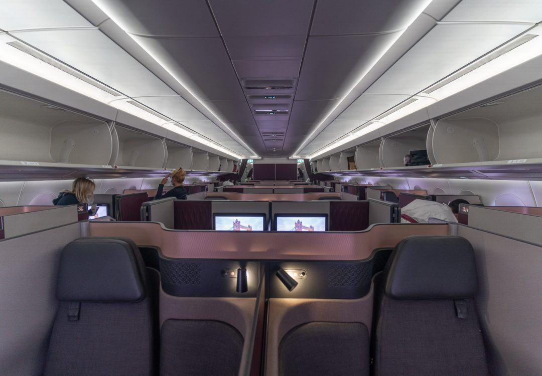 q suites covid 46 1080x750 - REVIEW - Qatar Airways : Q Suites - B777/A350 - Malé (MLE) to London (LHR) - [COVID-era]
