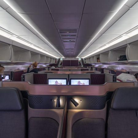q suites covid 46 450x450 - REVIEW - Qatar Airways : Q Suites - B777/A350 - Malé (MLE) to London (LHR) - [COVID-era]