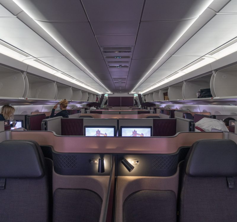 q suites covid 46 800x750 - REVIEW - Qatar Airways : Q Suites - B777/A350 - Malé (MLE) to London (LHR) - [COVID-era]