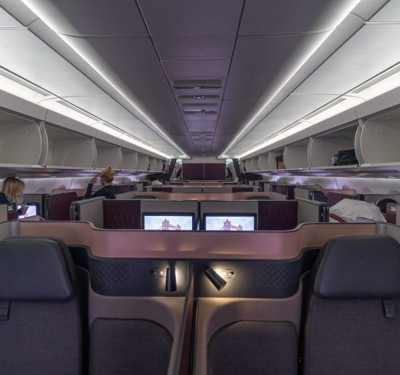 q suites covid 46 800x750 - REVIEW - Qatar Airways : Q Suites - B777/A350 - Malé (MLE) to London (LHR) - [COVID-era]