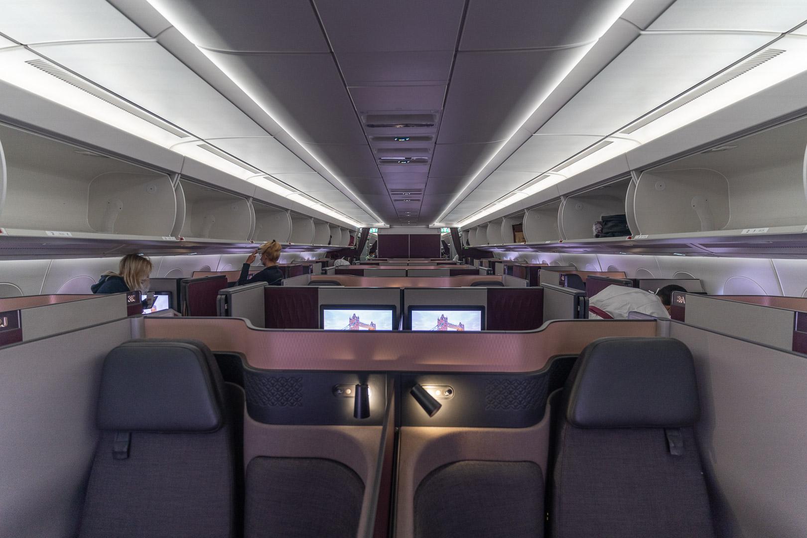 q suites covid 46 - REVIEW - Qatar Airways : Q Suites - B777/A350 - Malé (MLE) to London (LHR) - [COVID-era]