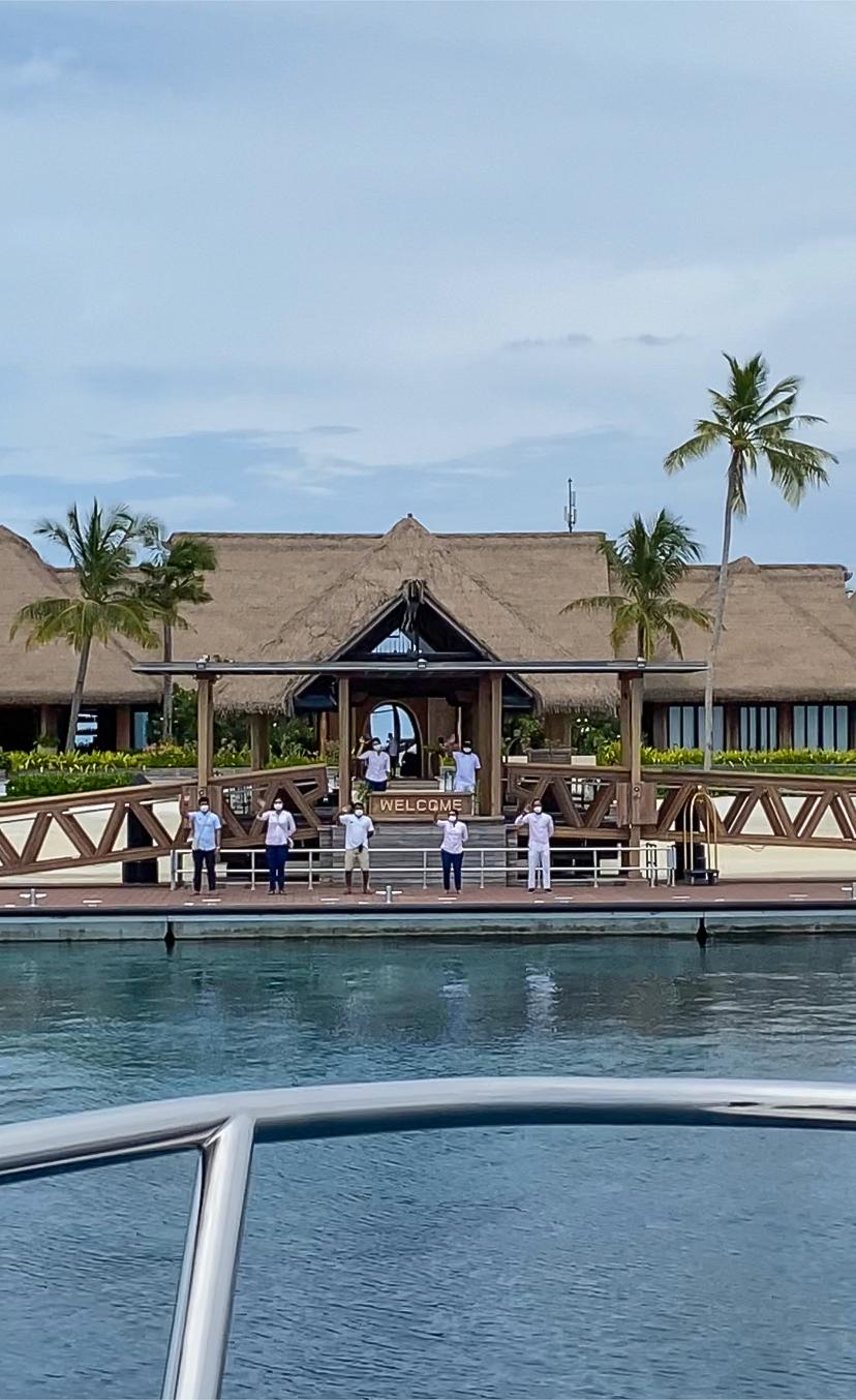 waldorf arrival - REVIEW - Waldorf Astoria Maldives Ithaafushi : King Reef Villa & King Ocean Villa