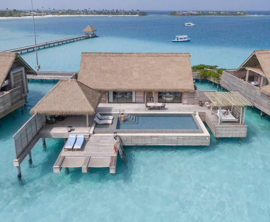 waldorf astoria maldives room 2 880x724 - REVIEW - Waldorf Astoria Maldives Ithaafushi : King Reef Villa & King Ocean Villa