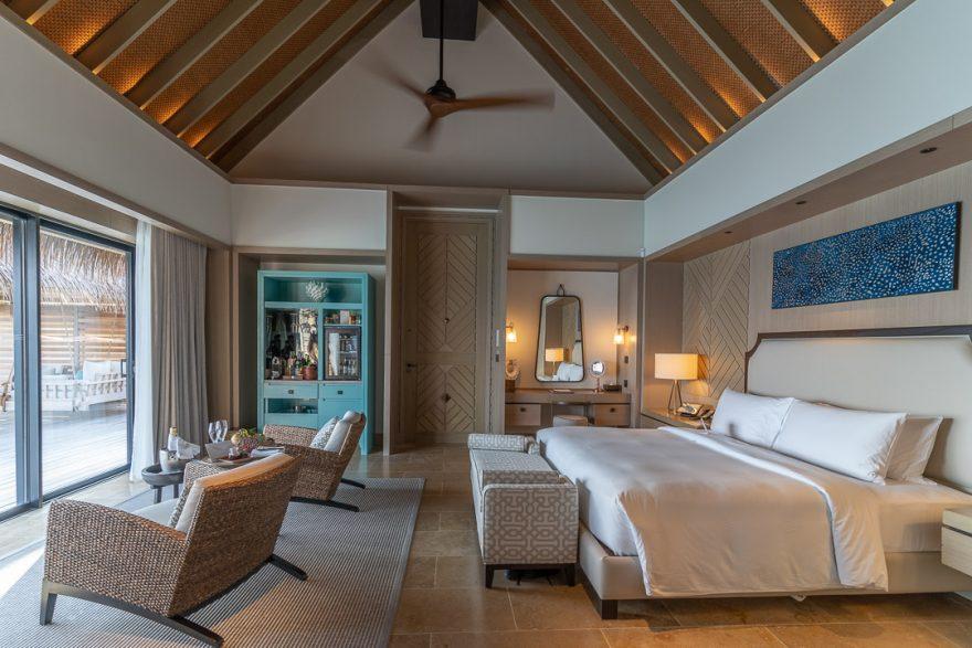 waldorf astoria maldives room 30 880x587 - REVIEW - Waldorf Astoria Maldives Ithaafushi : King Reef Villa & King Ocean Villa
