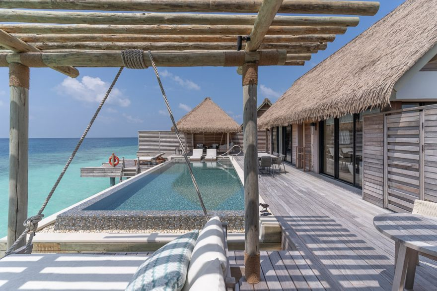 waldorf astoria maldives room 55 880x587 - REVIEW - Waldorf Astoria Maldives Ithaafushi : King Reef Villa & King Ocean Villa