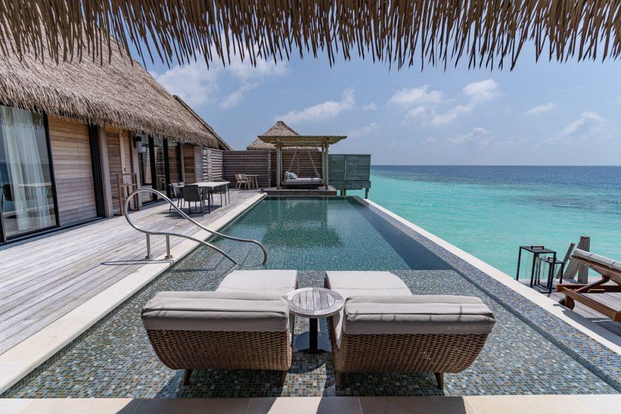 waldorf astoria maldives room 67 880x587 - REVIEW - Waldorf Astoria Maldives Ithaafushi : King Reef Villa & King Ocean Villa