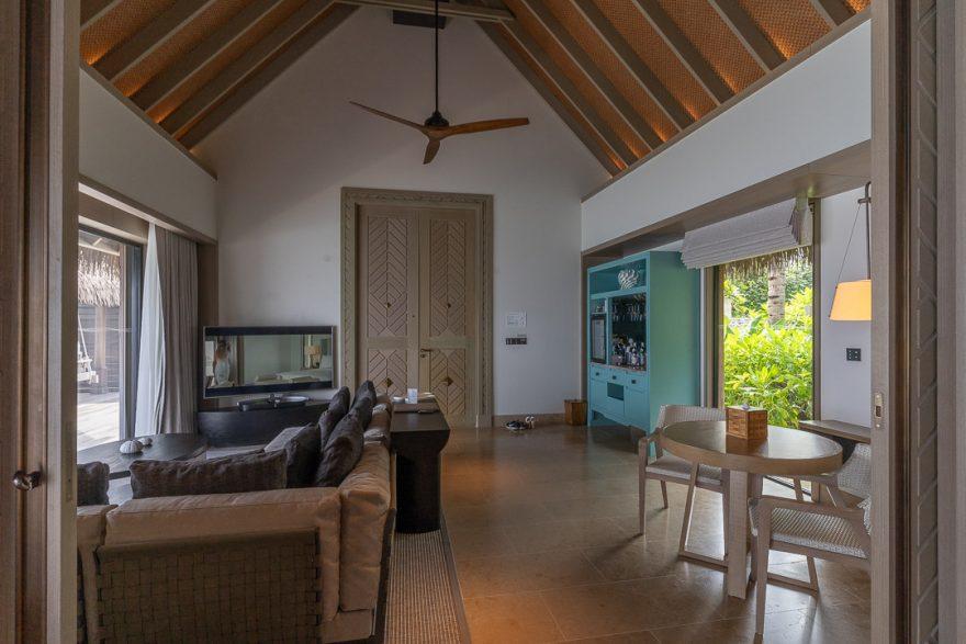 waldorf maldives grand villa 1 880x587 - REVIEW - Waldorf Astoria Maldives Ithaafushi : King Reef Villa & King Ocean Villa