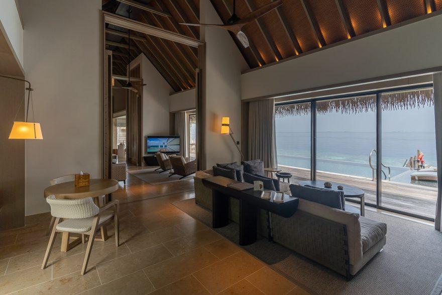 waldorf maldives grand villa 2 880x587 - REVIEW - Waldorf Astoria Maldives Ithaafushi : King Reef Villa & King Ocean Villa