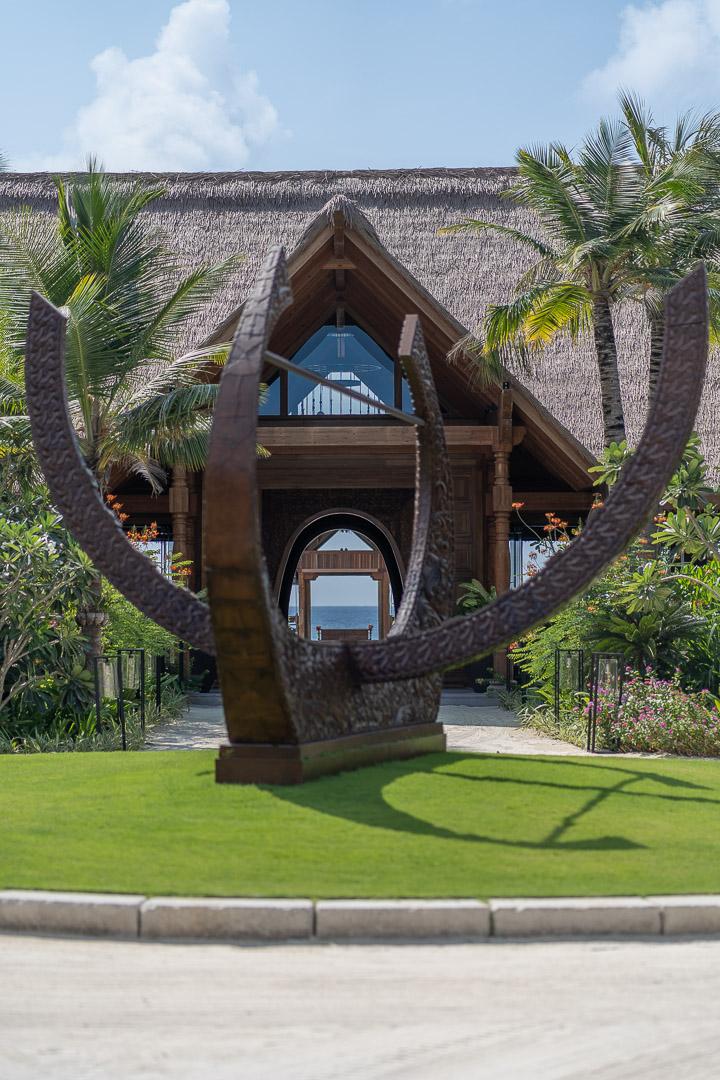 waldorf maldives reception 1 - REVIEW - Waldorf Astoria Maldives Ithaafushi : King Reef Villa & King Ocean Villa