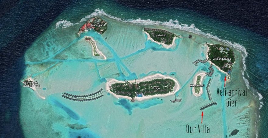anantara maldives map 880x455 - REVIEW - Anantara Veli : Deluxe Over Water Pool Bungalow