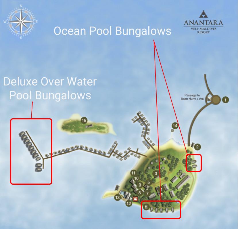 bungalows veli - REVIEW - Anantara Veli : Deluxe Over Water Pool Bungalow