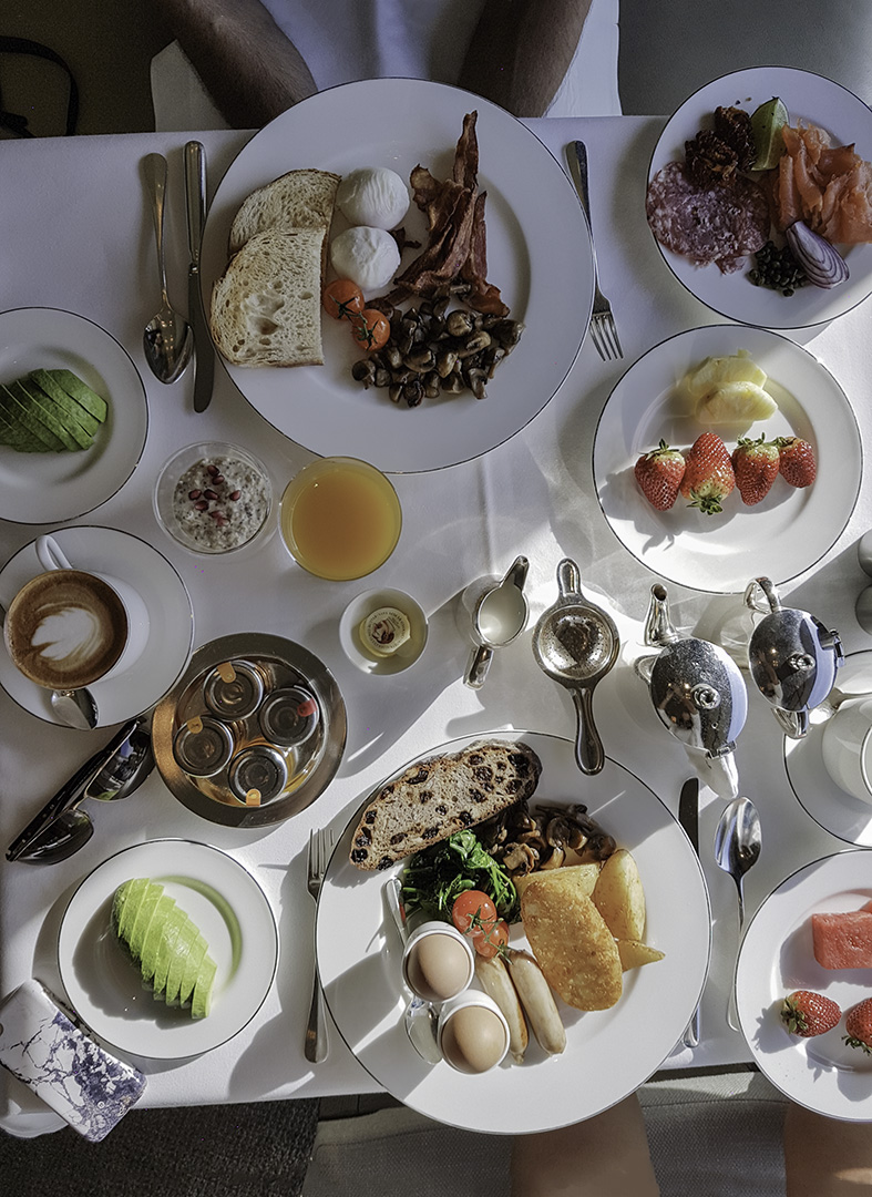 hero breakfast - How to get luxury hotels cheap