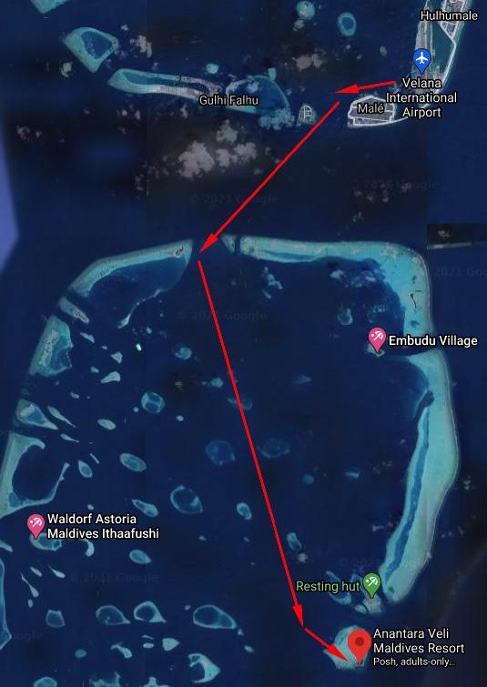 veli transfer - REVIEW - Anantara Veli : Deluxe Over Water Pool Bungalow