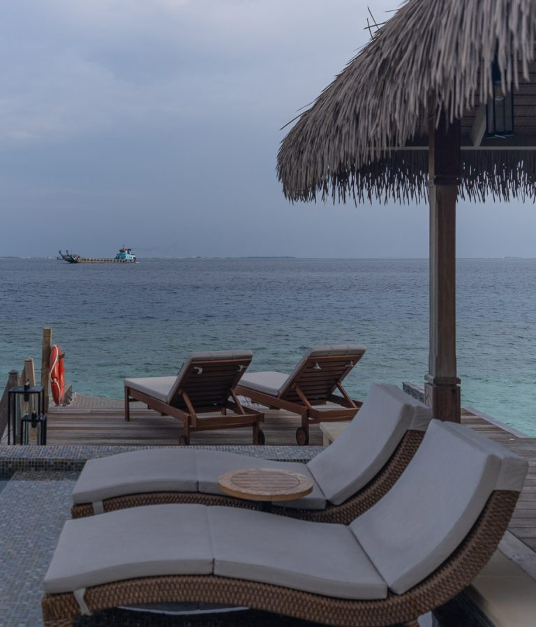 waldorf maldives room 70 768x898 - REVIEW - Waldorf Astoria Maldives Ithaafushi : King Reef Villa & King Ocean Villa