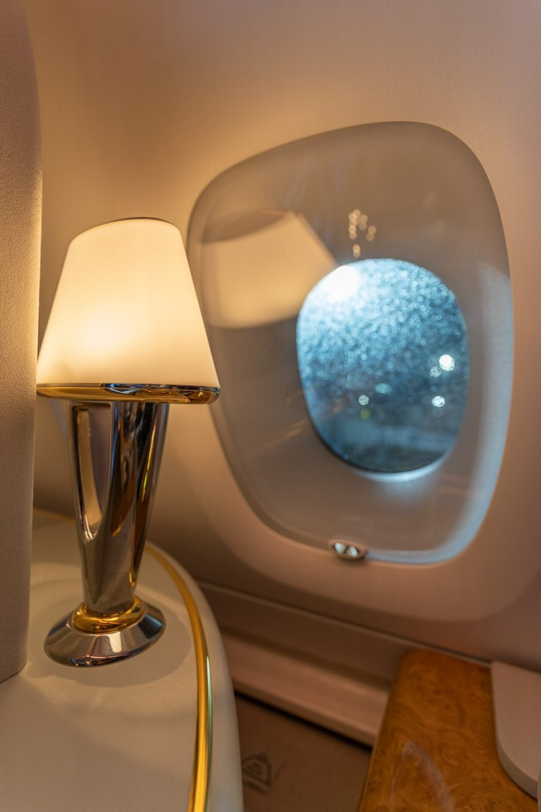 EK A380 F LGW DXB 19 768x1152 - REVIEW - Emirates : First Class - A380 - London (LGW) to Dubai (DXB)